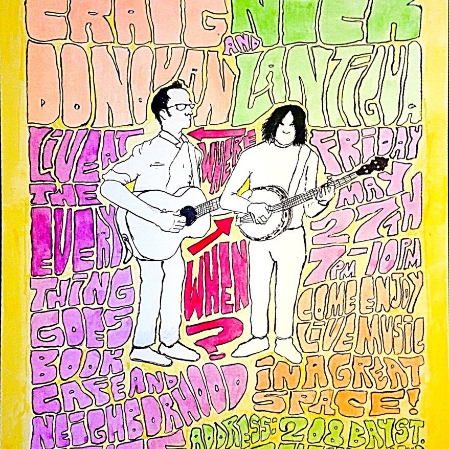 poster art for the 1st night at ETG